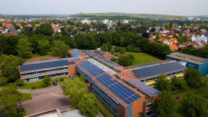 Solaranlage auf der Gustav-Heinemann-Realschule in Alzey